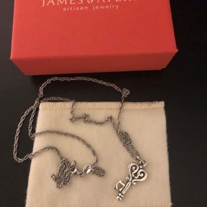 James Avery  'Key to my Heart' pendant on chain